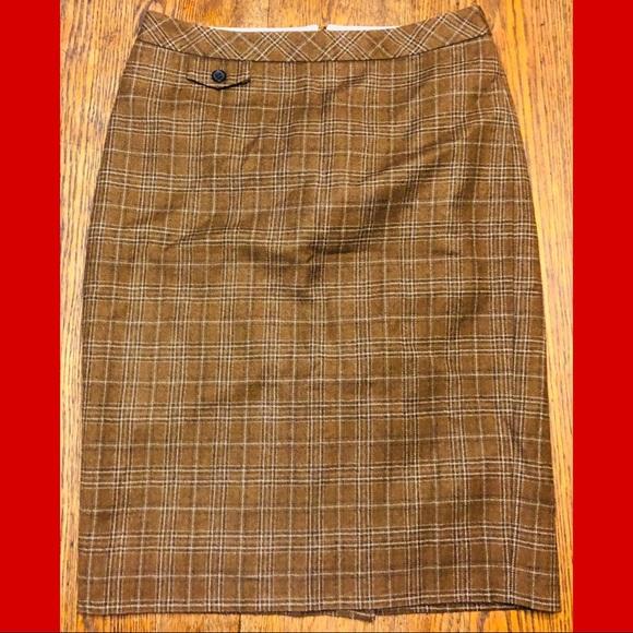 J. Crew Dresses & Skirts - J.Crew Plaid Pencil Skirt